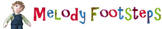 Melody Footsteps Logo